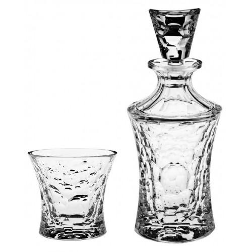 Set Whisky Molecules 1+6, cristallo trasparente