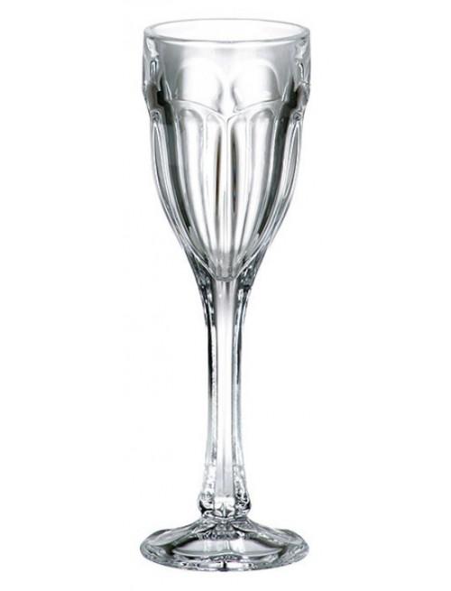 Set bicchieri Safari 6x, vetro trasparente, volume 50 ml