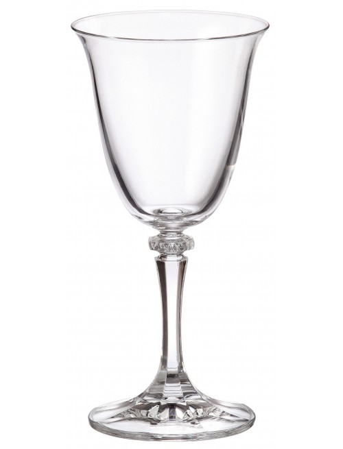 Set Bicchieri Branta 6x, vetro trasparente, volume 250 ml