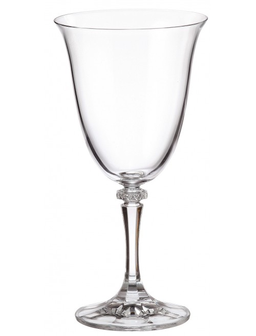 Set Bicchieri Branta 6x, vetro trasparente, volume 360 ml
