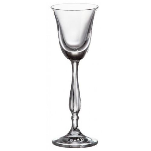 Set bicchieri Fregata 6x, vetro trasparente, volume 60 ml
