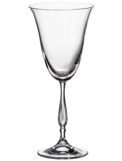 Set bicchieri Fregata 6x, vetro trasparente, volume 250 ml