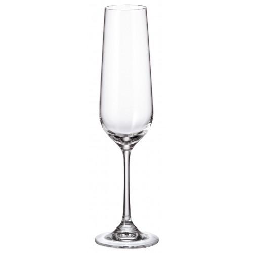 Set Bicchieri Strix 6x, vetro trasparente, volume 200 ml