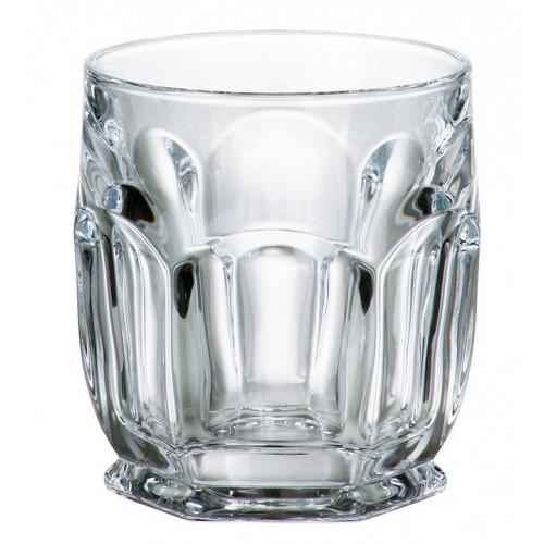 Set bicchieri Safari 6x, vetro trasparente, volume 250 ml