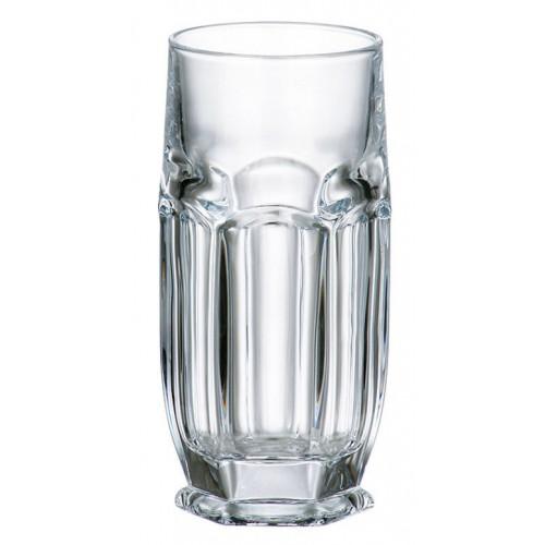 Set bicchieri Safari 6x, vetro trasparente, volume 300 ml