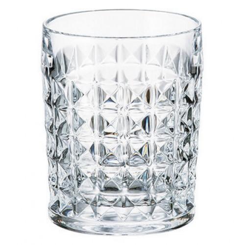 Bicchiere Diamond, vetro trasparente, volume 230 ml