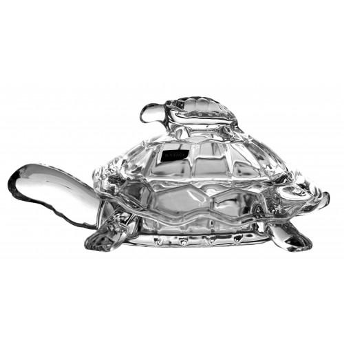 Confettiera Tartaruga, vetro trasparente, diametro 265 mm