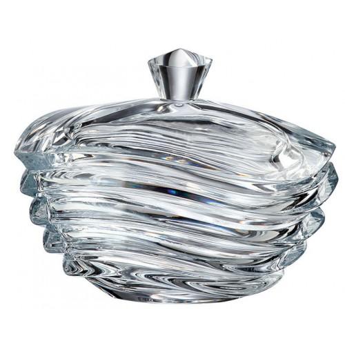 Confettiera Wave, vetro trasparente, diametro 170 mm