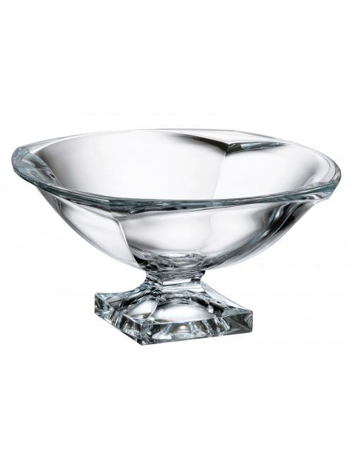 Portafrutta Magma, vetro trasparente, diametro 340 mm