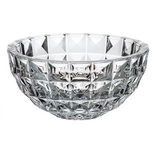 Insalatiera Diamond, vetro trasparente, diametro 280 mm