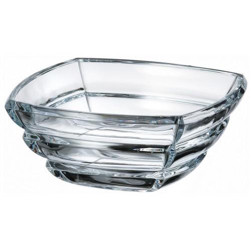 Insalatiera Segment, vetro trasparente, diametro 205 mm