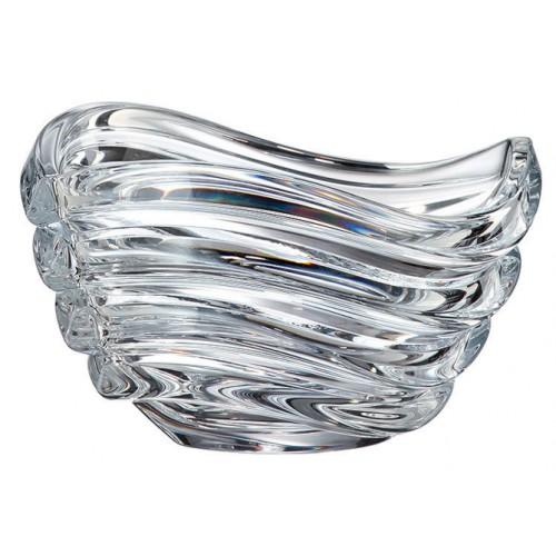 Insalatiera Wave, vetro trasparente, diametro 165 mm