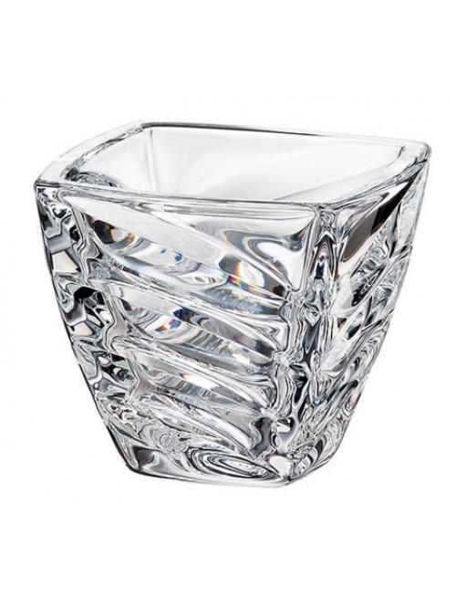 Ciotola Facet, vetro trasparente, diametro 140 mm