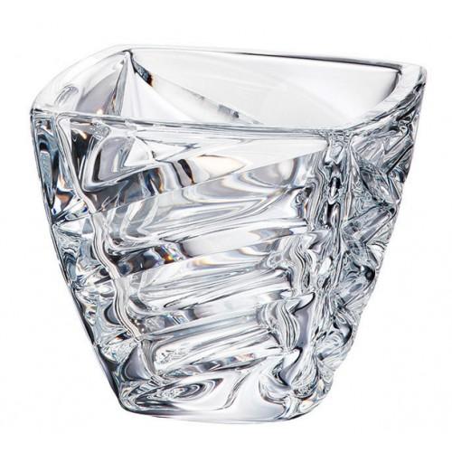 Insalatiera Facet, vetro trasparente, diametro 180 mm