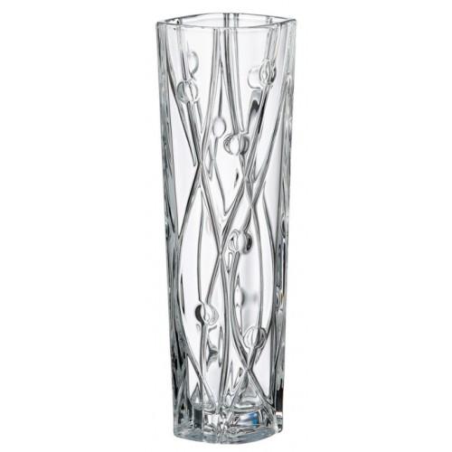 Vaso Labyrint Slim, vetro trasparente, altezza 305 mm