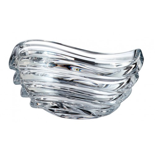 Insalatiera Wave, vetro trasparente, diametro 220 mm