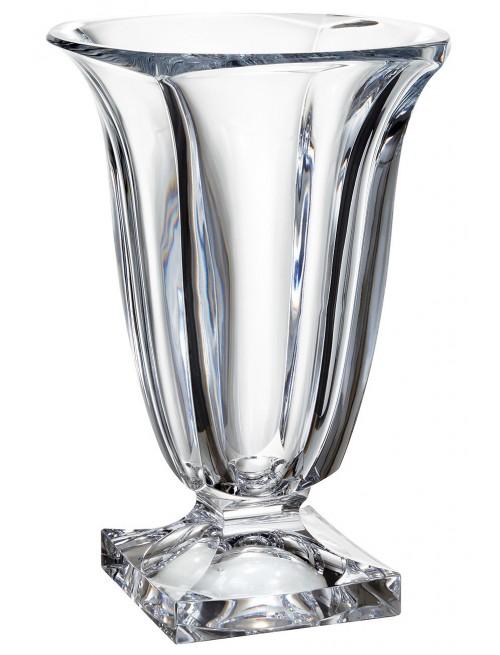 Vaso Magma, vetro trasparente, altezza 290 mm