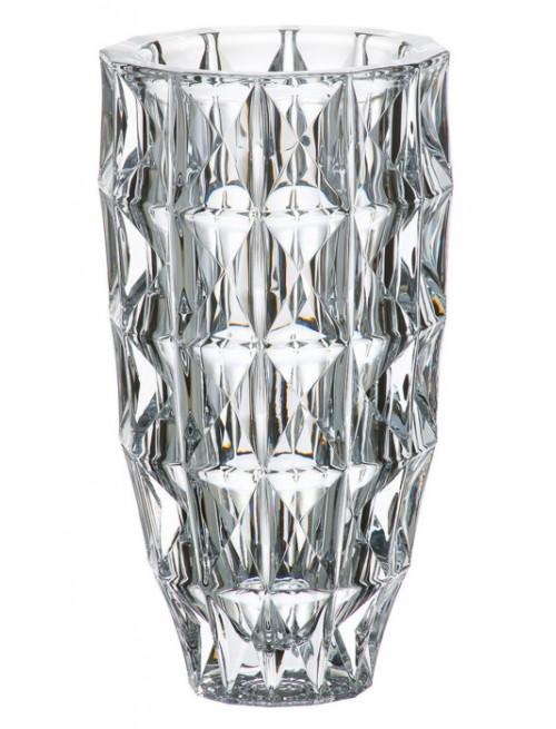 Vaso Diamond, vetro trasparente, altezza 280 mm