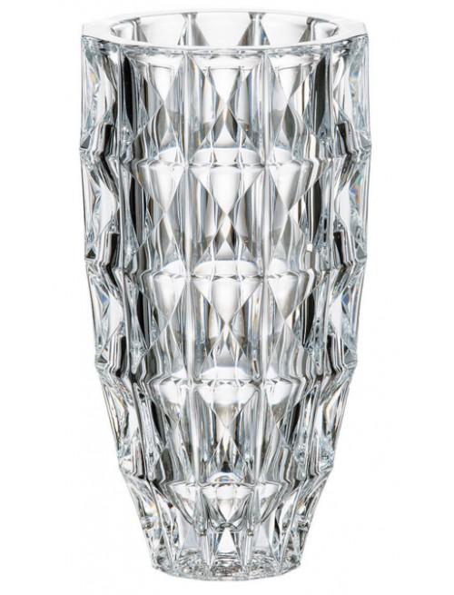 Vaso Diamond, vetro trasparente, altezza 255 mm