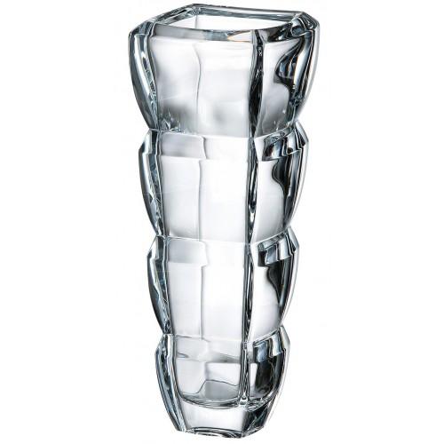 Vaso Segment, vetro trasparente, altezza 280 mm