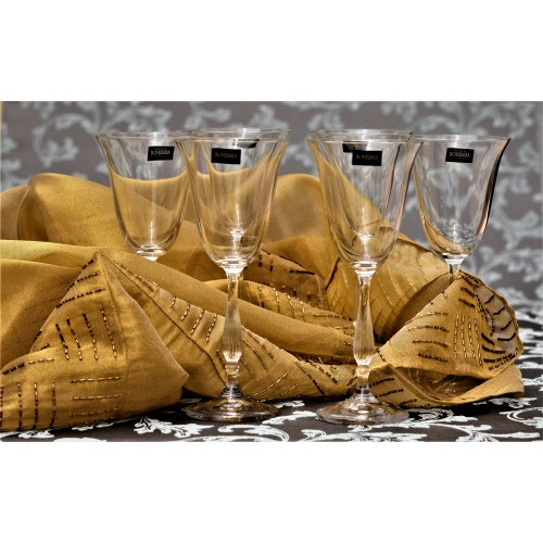 Set bicchieri Fregata 6x, vetro trasparente, volume 350 ml