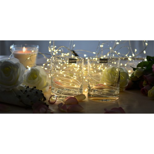 Set 2x bicchieri, vetro trasparente, volume 320 ml