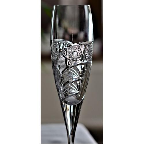 Bicchiere Cometa, cristallo trasparente, volume 200 ml