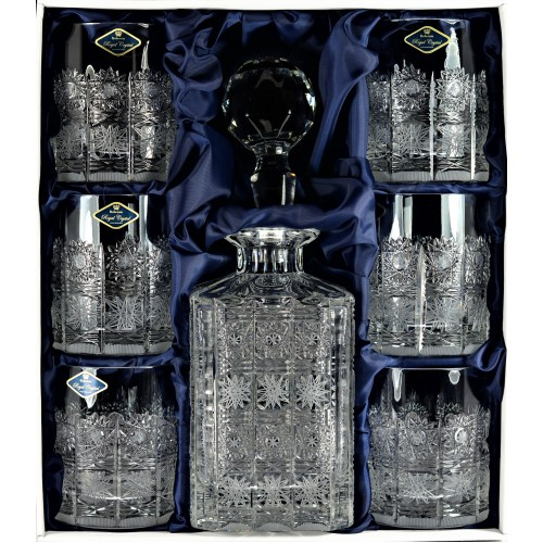 Set Whisky 500PK 1+6, cristallo trasparente, volume 800 ml + 320 ml