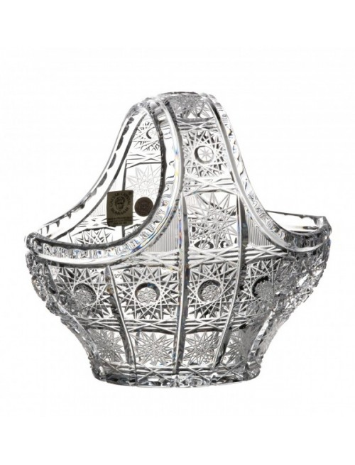 Cesto 500PK, cristallo trasparente, diametro 150 mm