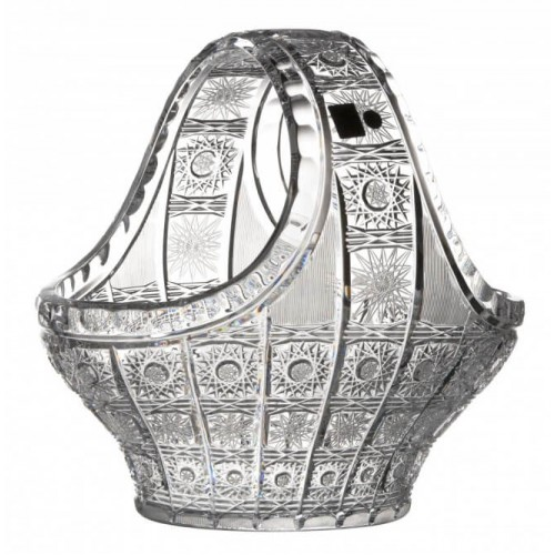 Cesto 500PK, cristallo trasparente, diametro 255 mm