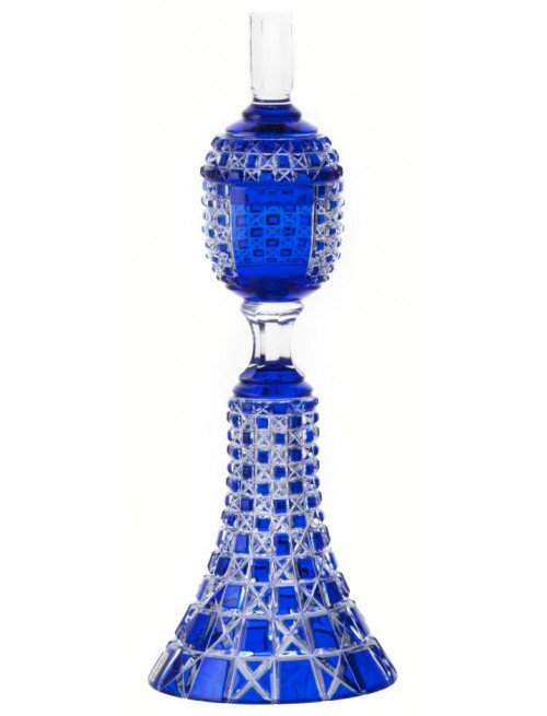 Coppa Lada, cristallo, colore blu, altezza 370 mm