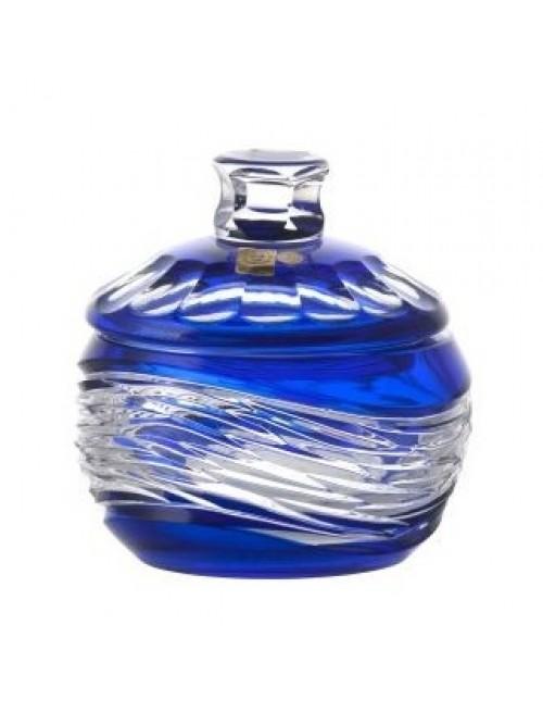 Confettiera Poem, cristallo, colore blu, altezza 160 mm