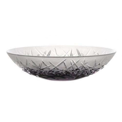 Insalatiera Hoarfrost I, cristallo, colore viola, diametro 280 mm