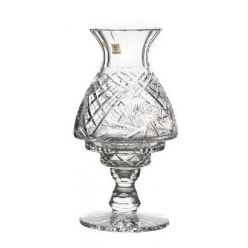 Lampada Eliche, cristallo trasparente, altezza 310 mm