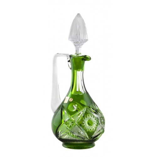 Caraffa Nordika, cristallo, colore verde, volume 950 ml