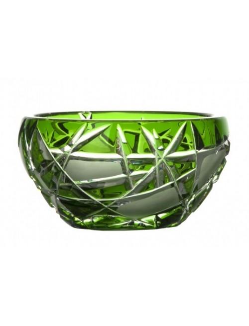 Ciotola Mars, cristallo, colore verde, diametro 110 mm