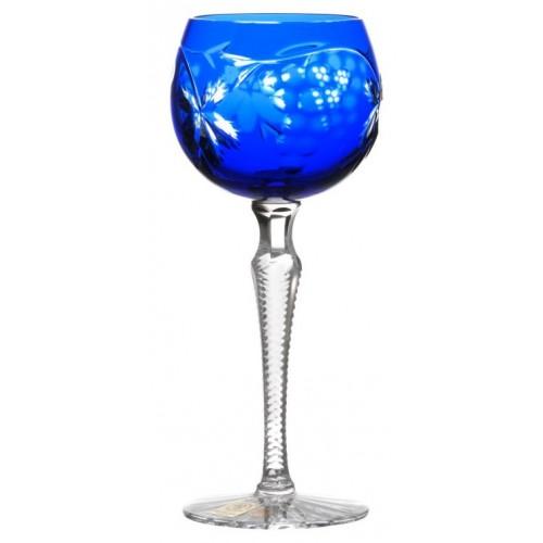 Bicchiere Grapes, cristallo, colore blu, volume 170 ml