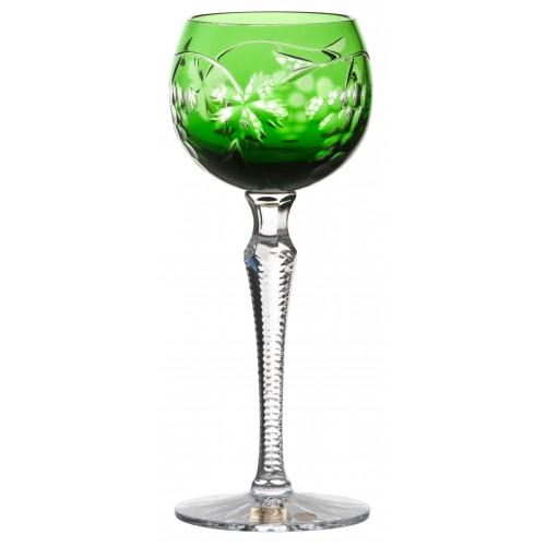 Bicchiere Grapes, cristallo, colore verde, volume 170 ml