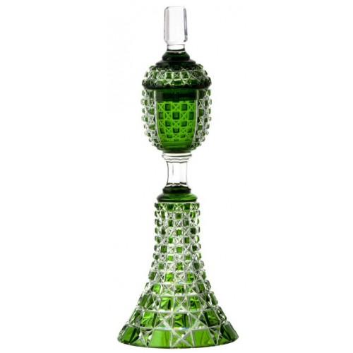 Coppa Lada, cristallo, colore verde, altezza 370 mm