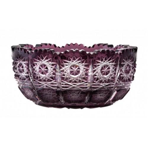 Ciotola Paula, cristallo, colore viola, diametro 116 mm