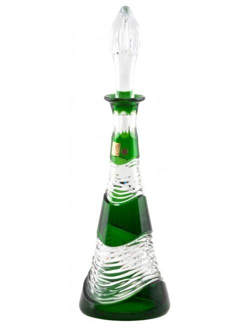 Bottiglia Poem, cristallo, colore verde, volume 750 ml