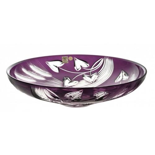 Insalatiera Wheat, cristallo, colore viola, diametro 340 mm