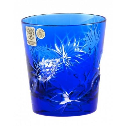 Bicchiere Thistle, cristallo, colore blu, volume 250 ml