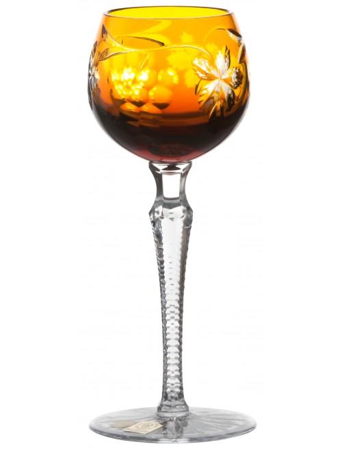 Bicchiere Grapes, cristallo, colore ambra, volume 170 ml
