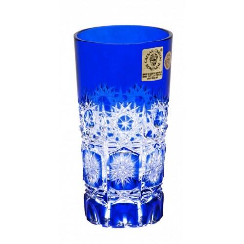 Bicchiere Paula, cristallo, colore blu, volume 100 ml
