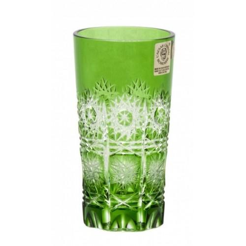 Bicchiere Paula, cristallo, colore verde, volume 100 ml