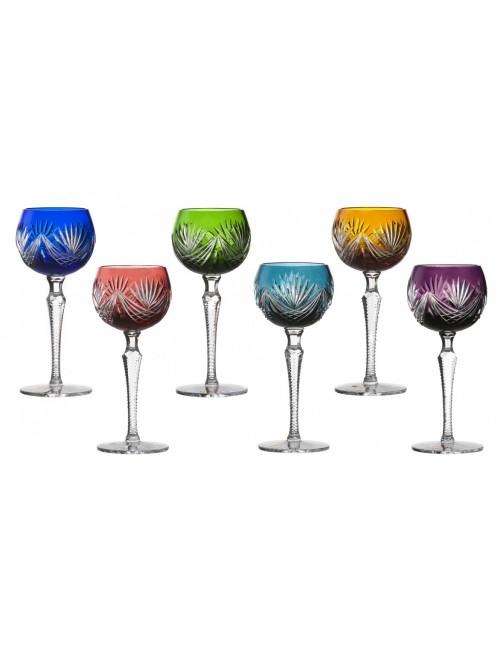 Set Bicchieri Janette 190, cristallo, multicolore, volume 190 ml