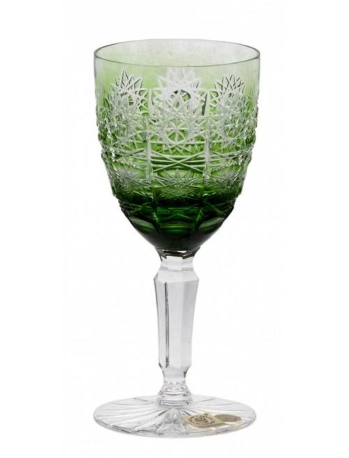 Bicchiere Paula, cristallo, colore verde, volume 150 ml