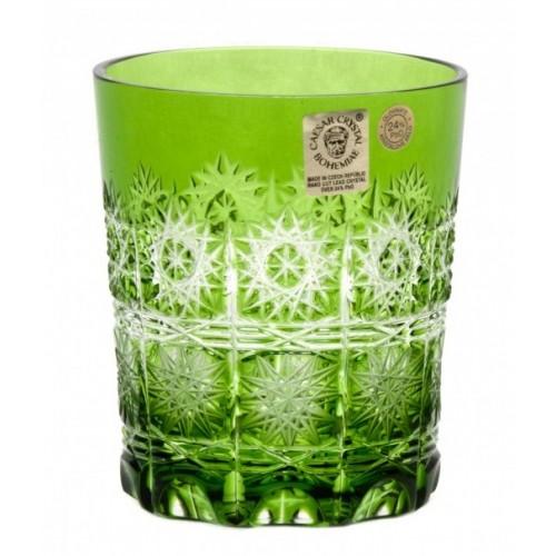 Bicchiere Paula, cristallo, colore verde, volume 290 ml