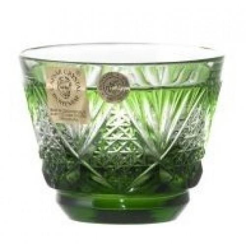 Bicchierino Sun, cristallo, colore verde, volume 65 ml